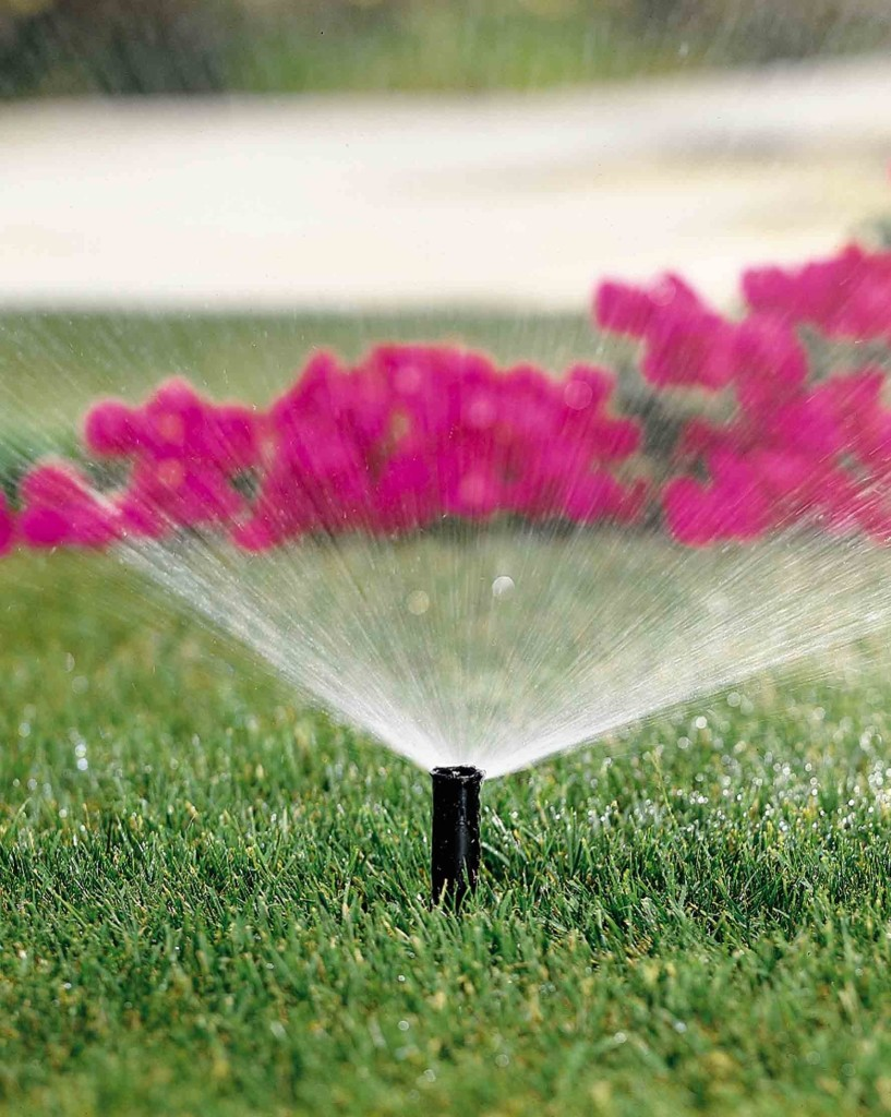 Sprinkler repair, installation and maintenance